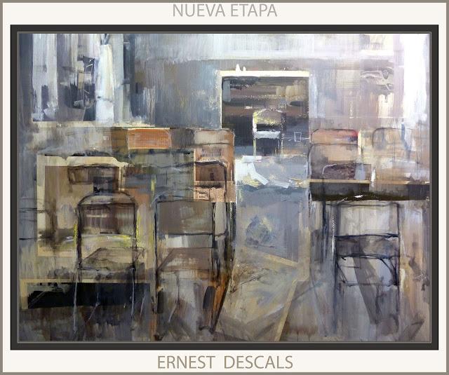 ERNEST DESCALS-PINTURAS-NUEVA ETAPA-PINTURA-SALON-PINTOR-CUADROS-INTERIORES