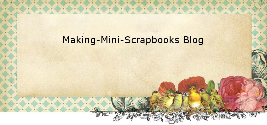 Making Mini Scrapbooks