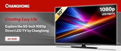 Daftar Harga TV Changhong Paling Murah