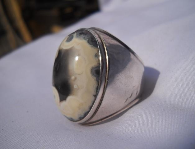 BG128- Batu Gambar Kepala Banteng Antik Sekali !!!_SOLD OUT