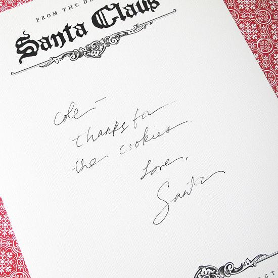 Heidi Poppins: Free Santa Stationary Printable