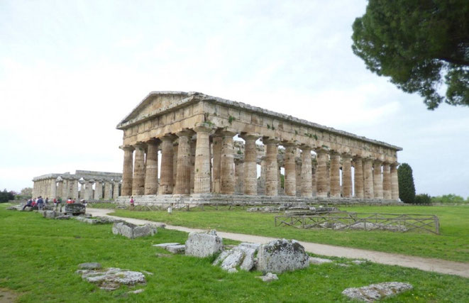 Un temple antisismique à Paestum
