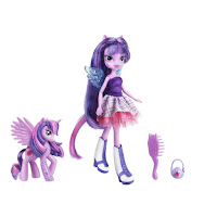 Equestria Girls Twilight Sparkle Doll and Pony