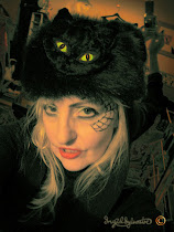 Ingrid Sylvestre - caricaturist & face painter at Hallowe'en events
