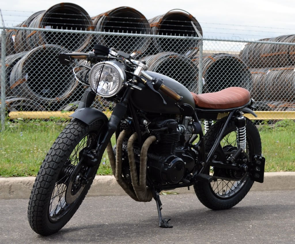 custom honda cb550 by acp