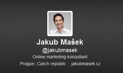 Jakub je na Twitteru : )