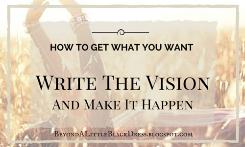 Goals, Write Vision