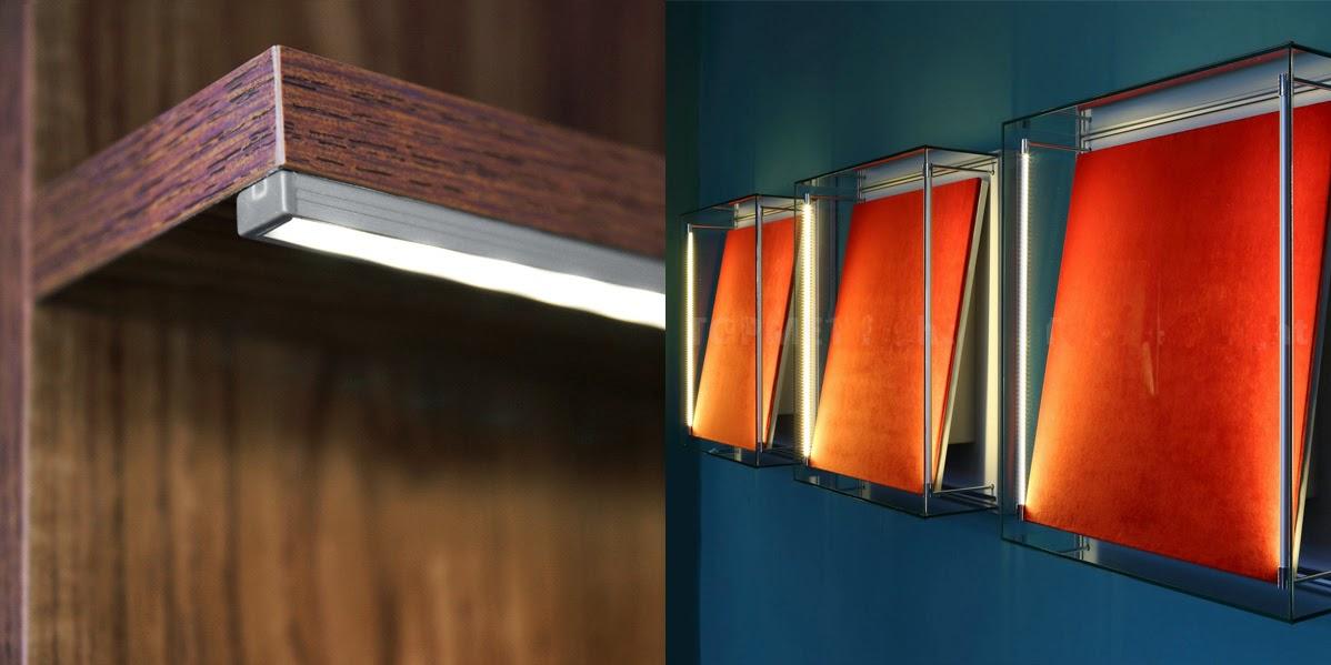 Illuminazione led casa profili in alluminio per strisce led - Strisce led illuminazione casa ...