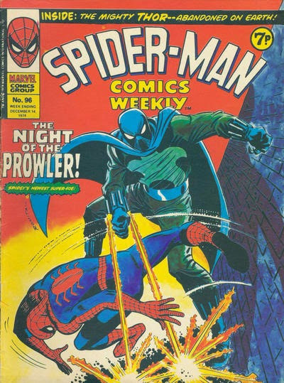 Spider-Man Comics Weekly #96, The Prowler