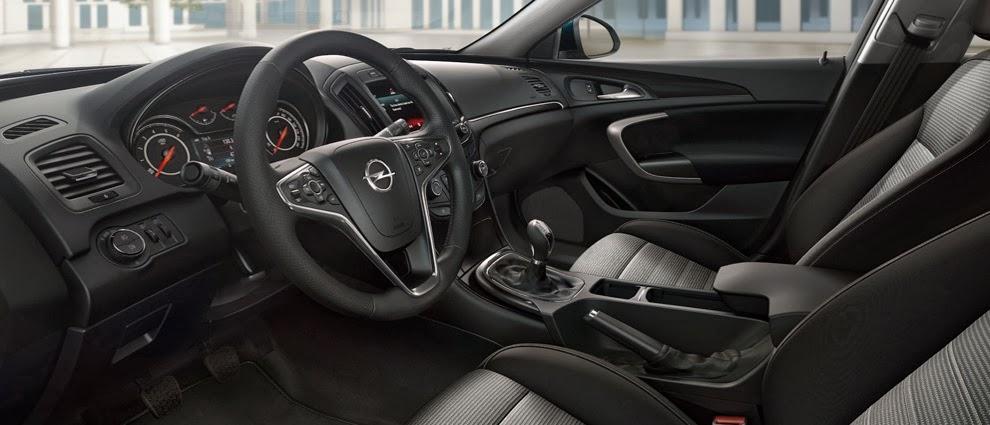 Noul Opel Insignia foto de interior