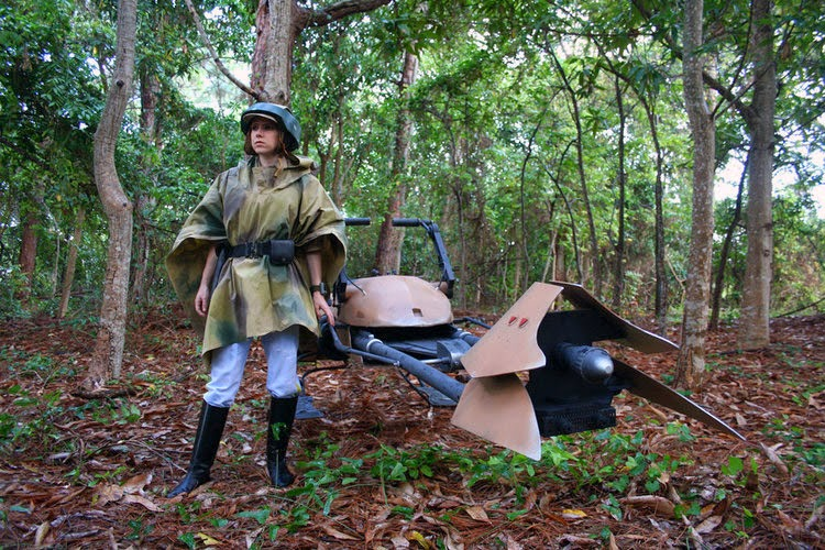 Princess Leia Endor Speeder