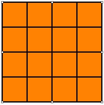 El blog de 4 y 5 cu ntos cuadrados hay for Cuantos codones existen