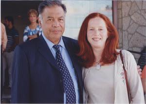 Dr Isaac Goiz and Helena Guerrero