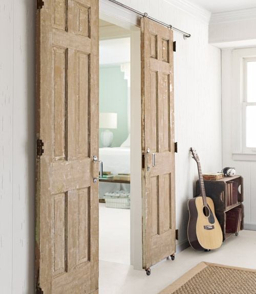 Amazing Grays Sliding Double Barn Doors