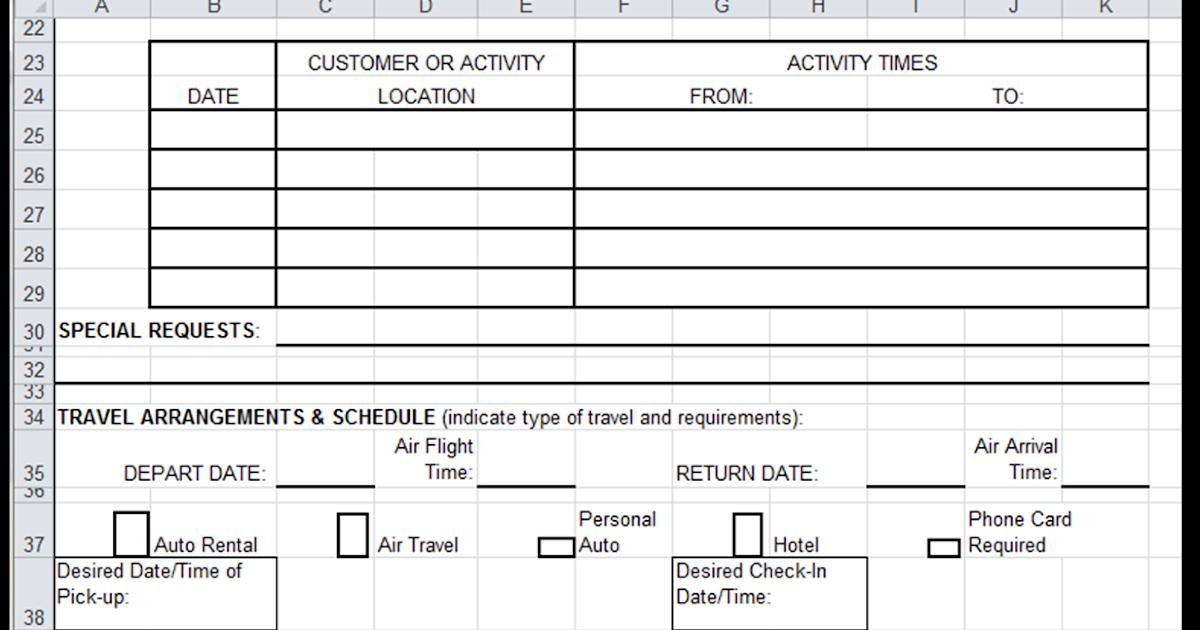Excel Spreadsheets Help Travel Authorization Request Form Template – Travel Authorization Form Example