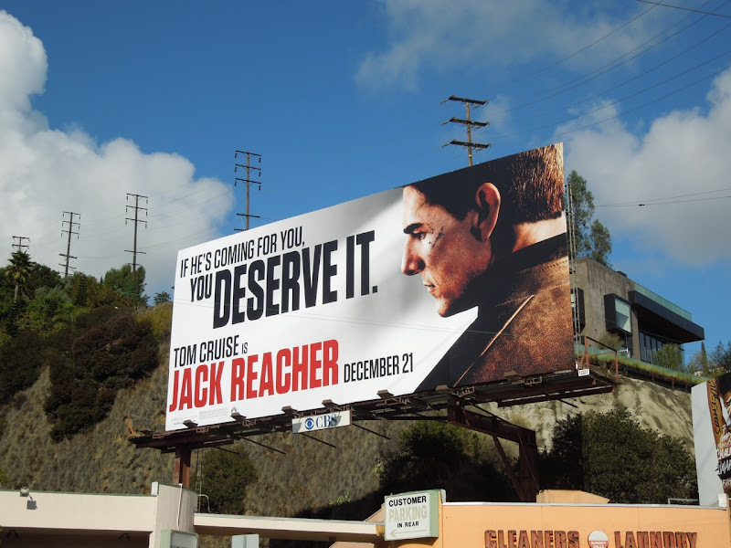 Jack Reacher movie billboard