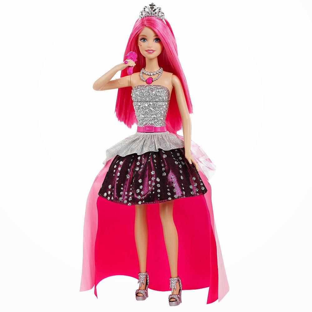 JUGUETES- Barbie in Rock'n Royals  Singing Courtney | Canta | Muñeca - Doll   Toys | Producto Oficial Película | Mattel CKB57 | A partir de 3 años