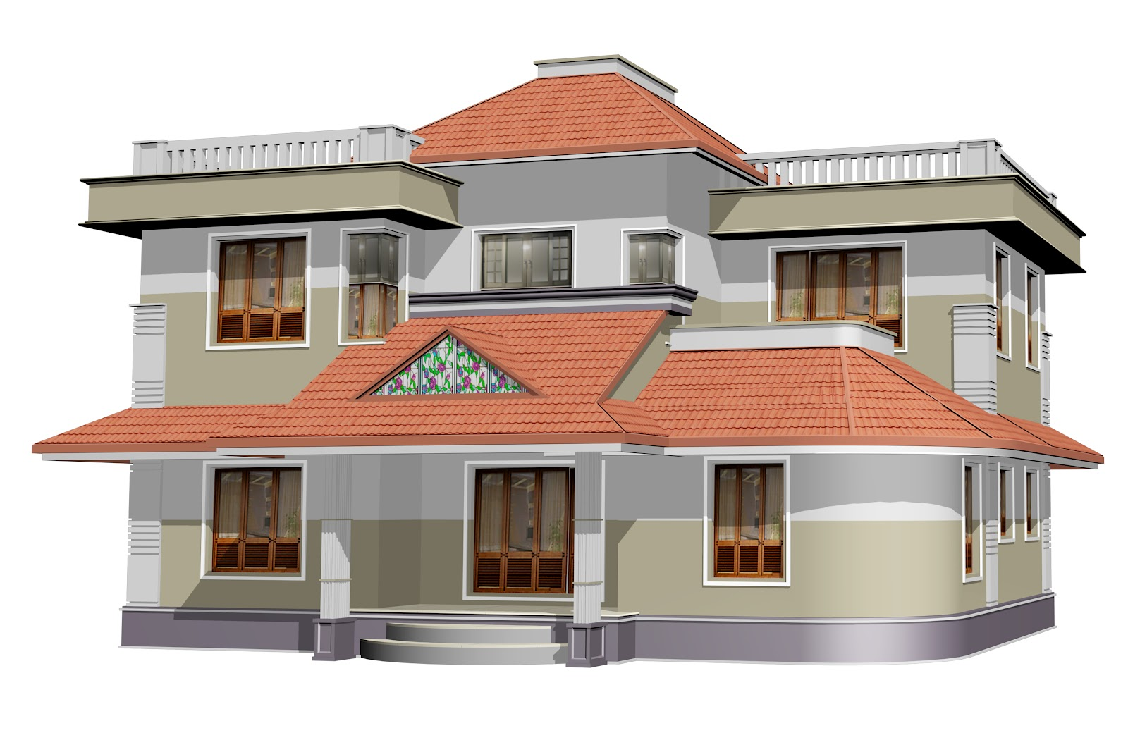 ENTE VEEDU: ENTE VEEDU - NEW ELEVATION 13212