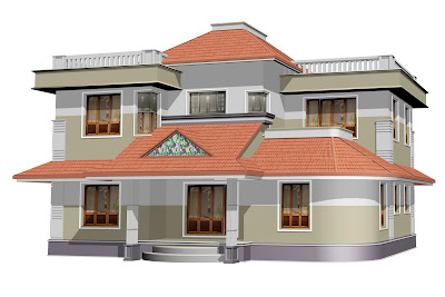 Ente veedu ente veedu new elevation 13212 for Veedu plans kerala