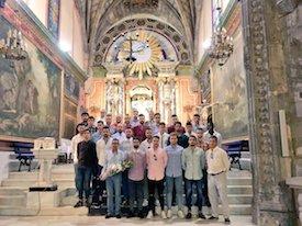 El Real Ávila realizó la ofrenda a la Virgen de Sonsoles
