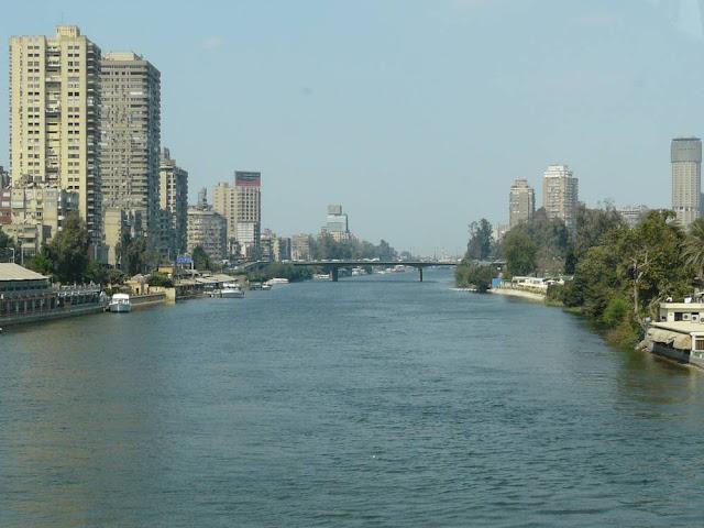 Kair - widok na Nil