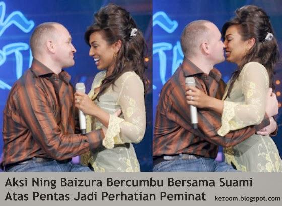 Aksi Ning Baizura Bercumbu Bersama Suami Atas Pentas Jadi Perhatian