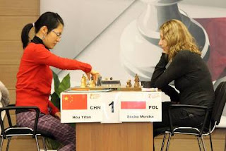 Échecs : Hou Yifan face à Monika Socko © site officiel
