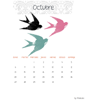 2014 CALENDAR FREEBIE /CALENDARIO 2014 IMPRIMIBLE