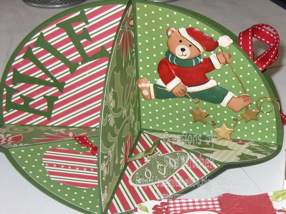 Pop Up Christmas Card Making Ideas Part - 27: 3D Circle Pop Ups - Christening, Christmas, 21st Card Making Ideas