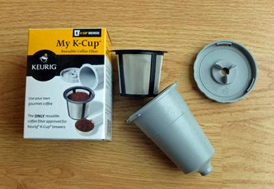 Keurig recyclable coffee filter