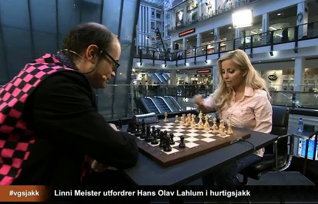 Linni Meister, top model, chanteuse pop, bloggeuse, personnalité très médiatique à la télévision, qui vit à Oslo était l'invitée de VG la semaine dernière