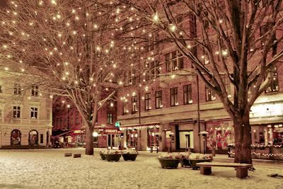 Lilla Torg, Malmo, Sweden