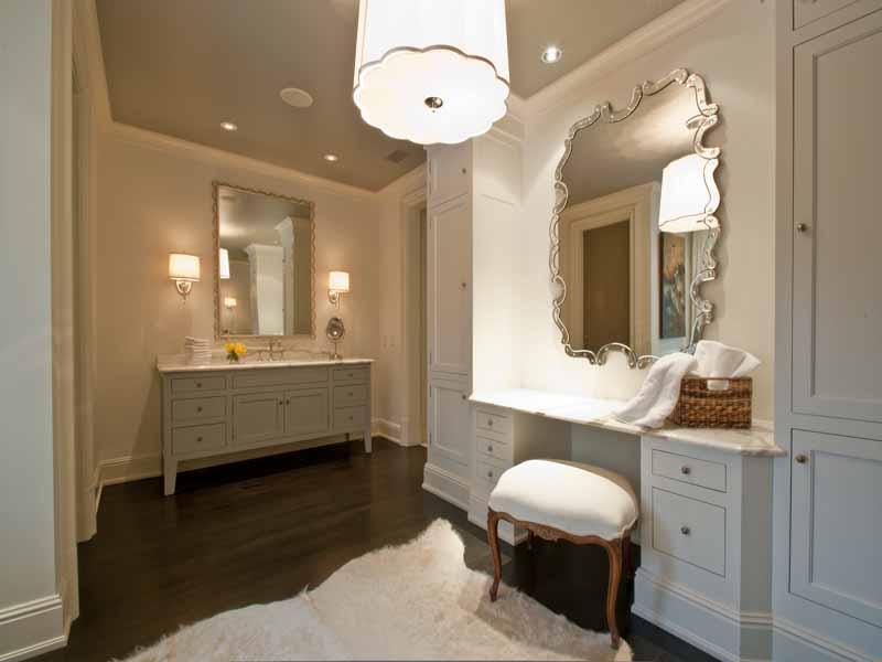 Trisha troutz atlanta interiors bathrooms for Bathroom dressing ideas