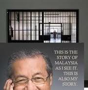 Abdullah Badawi dan Mahathir Mohamed ditahan di penjara Sungai Buloh