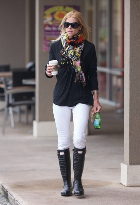 Fashion In General How To Wear Rain Boots