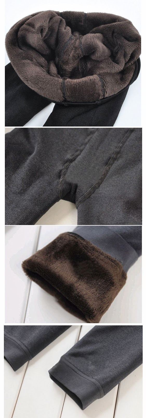 Pepperminter Travelogue Planning For My Korea Winter Trip In 2013 Thermal Legging Tebal The Picture Promises A Really Thick Fur Lining And Is Able To Withstand Though I Had Doubts About It But Went Ahead With
