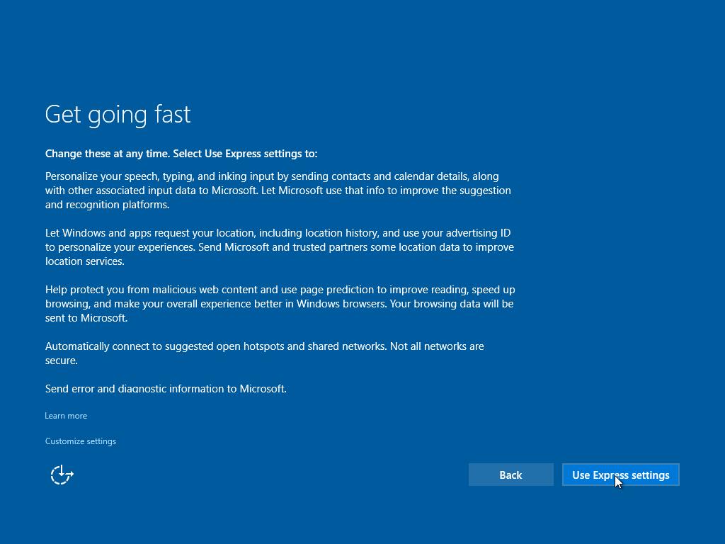 ... hingga nantinya kalian akan dibawah ke tampilan desktop Windows 10