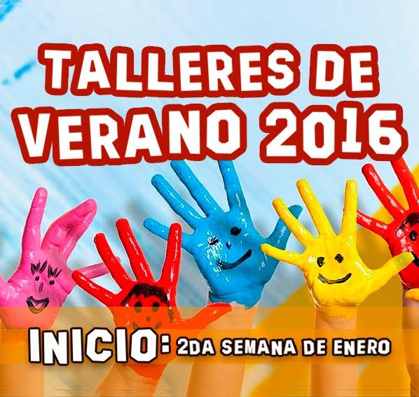 TALLERES DE VERANO 2016