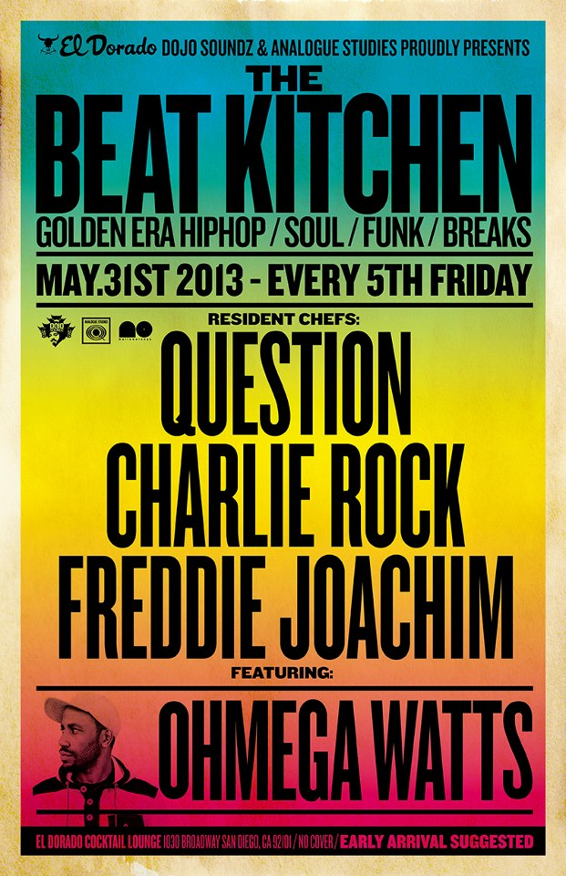 Freddie Joachim Question The Beat Kitchen Sessions