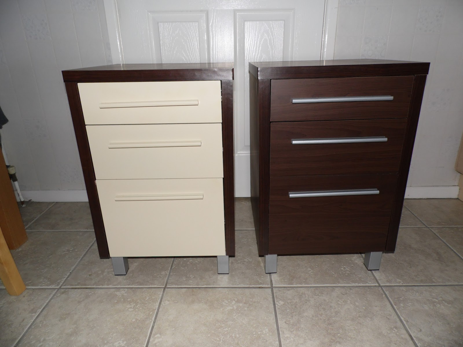 And Who Says You Can 39 T Bedside Table Re Do On The Cheap