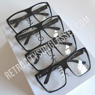 Vintage Sunglasses with Clear Lenses