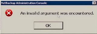 Argumento inválido