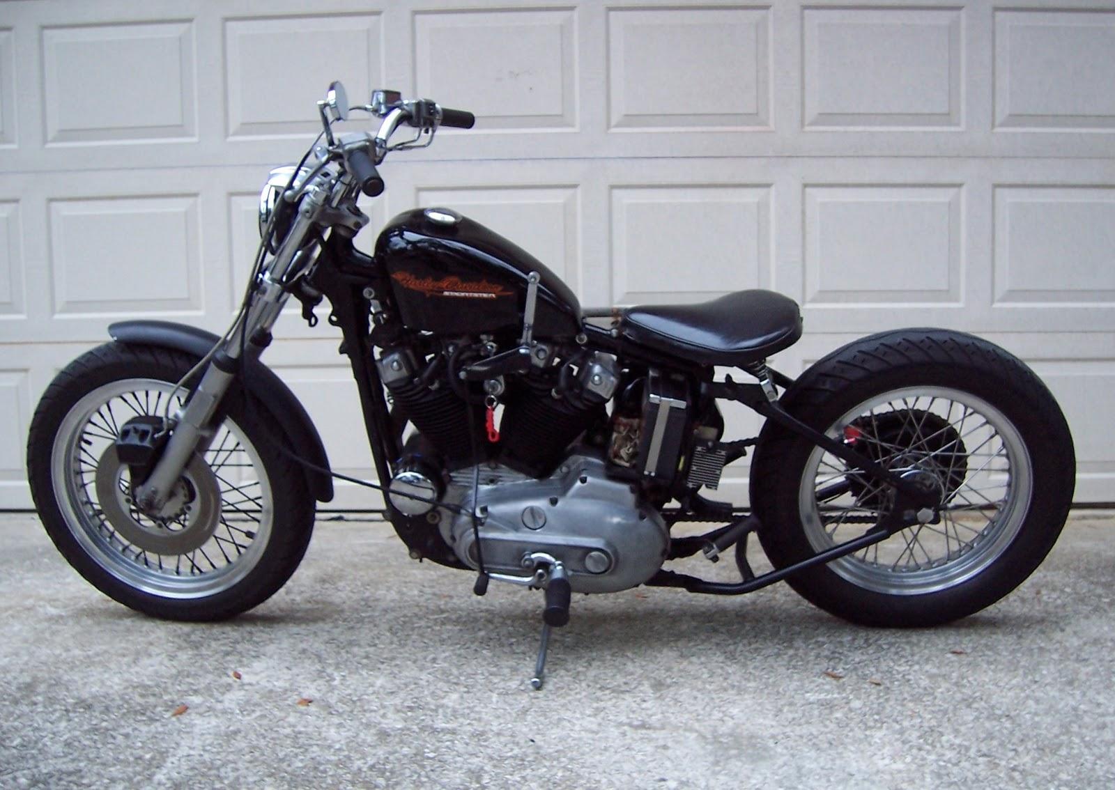 Harley Ironhead Sportster Bobber