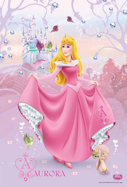 Aurora Sleeping Beauty Poster
