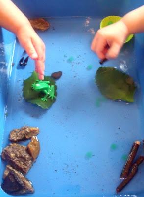 Tadpoles Fishing for Preschoolers