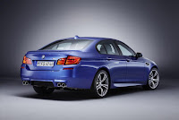 BMW M5 (2012) Rear Side