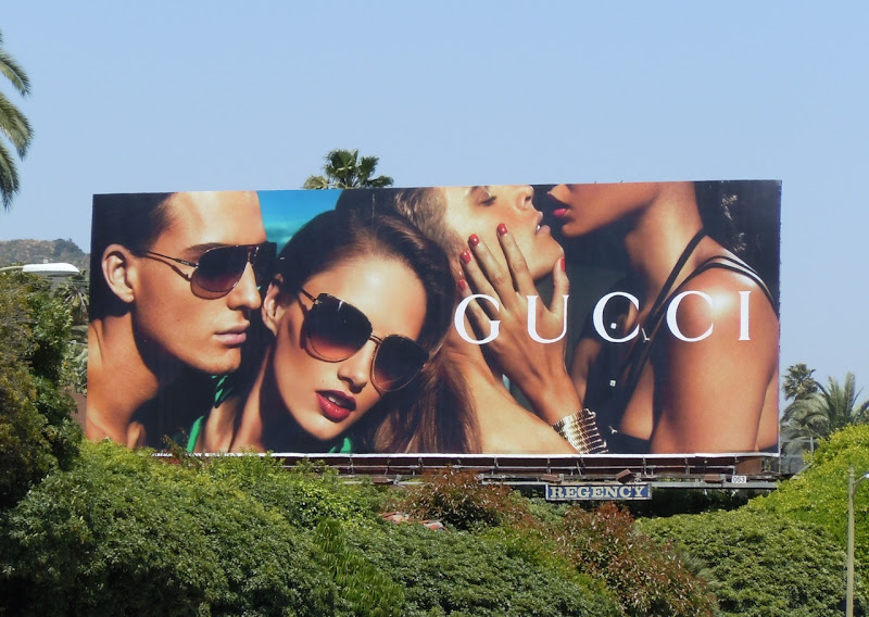 Gucci sunglasses billboard 2011