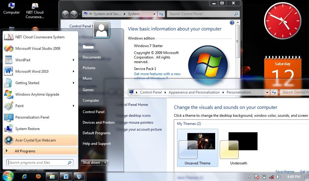 Wallpaper Program For Windows 7 Starter