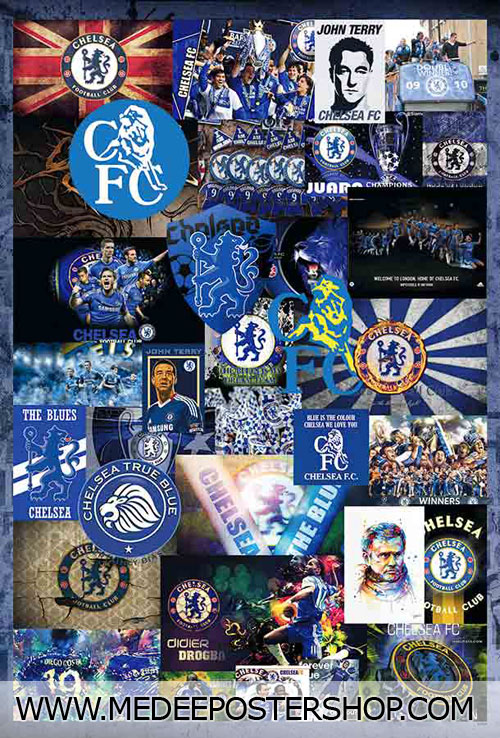 CHELSEA 2015 POSTER MIX