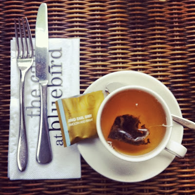 Earl Grey Tea at The Cafe at Bluebird, Kings Road, London